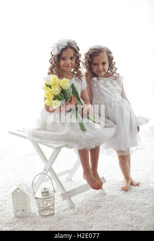 Little girls - Stock Photo
