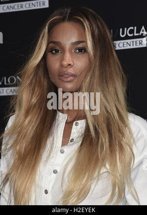 Los Angeles, Ca, USA. 27th Sep, 2016. Ciara at Revlon's Annual Philanthropic Luncheon at Chateau Marmont for the - Stock Photo