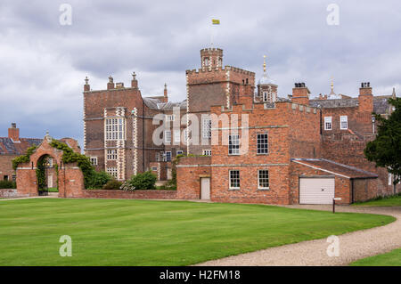 Burton Constable Hall, Skirlaugh, East Riding, Yorkshire, England - Stock Photo