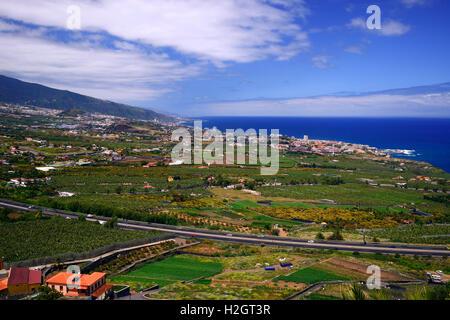 Coastal landscape, view, Puerto de Mazzaron, Costa Calida, Murcia Stock Photo...