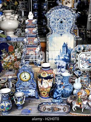 Jorrit Heinen Royal Delftware Prinsengracht Jordaan Amsterdam Netherlands - Stock Photo