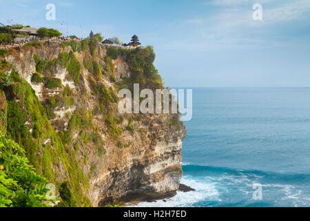 Temple on the top of a cliff. - Stock Photo