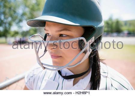 young girl gets facial