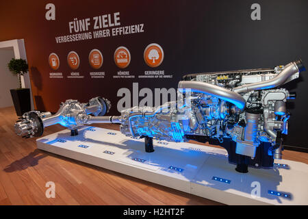 Paccar Daf Heavy Duty Truck Transmission Stock Photo, Royalty Free ...