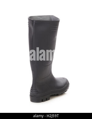 High rubber boot. - Stock Photo