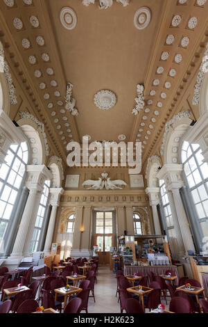 Café in the Gloriette, Schönbrunn Palace, Hietzing, Vienna, Austria - Stock Photo