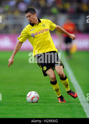 Fussball-Bundesliga, professional association football league in Germany, Season 2010-2011, 1st match of the round, - Stock Photo