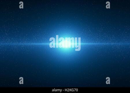 Space, Galaxy Big Bang - Stock Photo