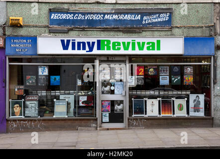 Vinyl Revival Record Shop On Hilton Street In Manchester S
