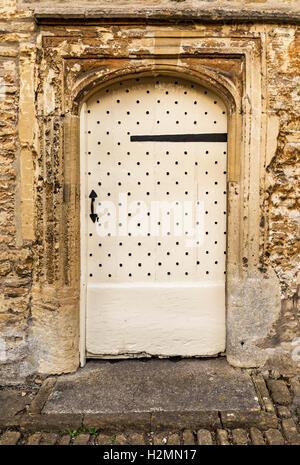 Nice British door - Stock Photo