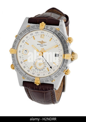 Breitling mans watch - Stock Photo