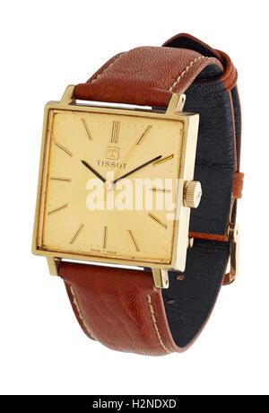 Mans Tissot watch - Stock Photo