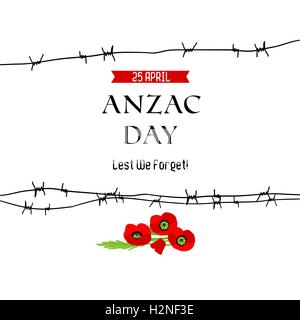 Anzac day background - Stock Photo