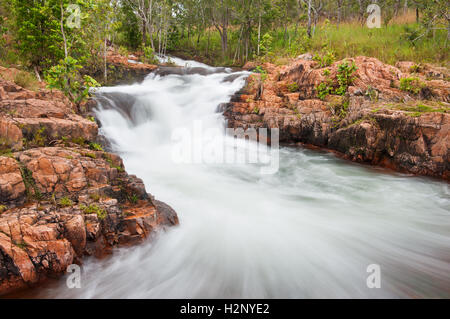 Buley Rockholes in Litchfield National Park. - Stock Photo