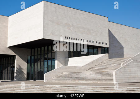 Vilnius, Lithuania - March 18, 2015: National gallery of art - a multifunctional centre of art and culture. - Stock Photo