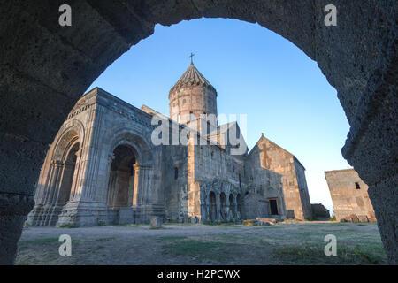 Tatev Monastery in Armenia. - Stock Photo