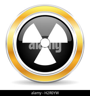 radiation icon - Stock Photo