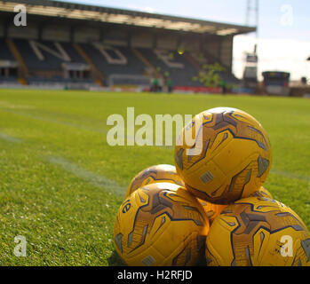 Dens Park, Dundee, Scotland. 01st Oct, 2016. Scottish Premier League Football. Dundee versus Celtic. General view - Stock Photo