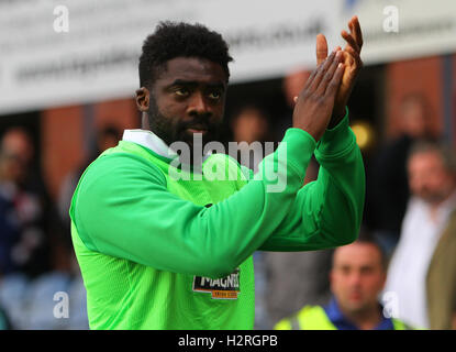 Dens Park, Dundee, Scotland. 01st Oct, 2016. Scottish Premier League Football. Dundee versus Celtic. Kolo Toure - Stock Photo