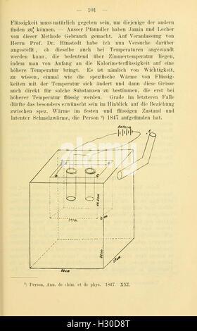 Bericht der Oberhessischen Gesellschaft für Natur- und Heilkunde (Page 101) BHL125 - Stock Photo