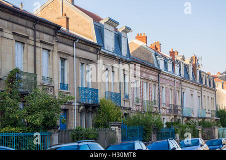 Art deco houses rue du mar chal oudinot parc de saurupt for Art et decoration france