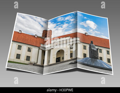 In the new arsenal  are parts of the Lithuanian National Museum, Vilnius, Lithuania, Baltic States, Europe - Stock Photo