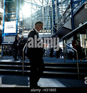 Conservative Party Conference day 2 on 03/10/2016 at Birmingham ICC, Birmingham. Persons pictured: Atmosphere, general - Stock Photo