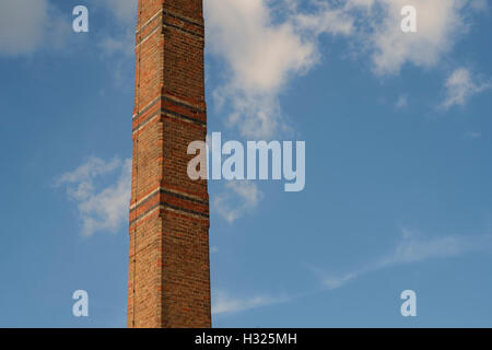 The chimney tower at Cox's Yard Stratford-on-Avon - Stock Photo