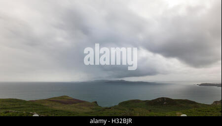 Dunfanaghy Bay from Horn Head, County Donegal, Ireland - Stock Photo