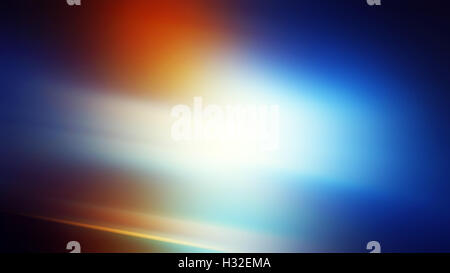 Abstract motion blur background, orange and blur light source - Stock Photo