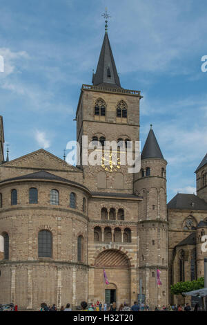 The Cathedral, Trier, Rhineland Palatinate, Germany - Stock Photo