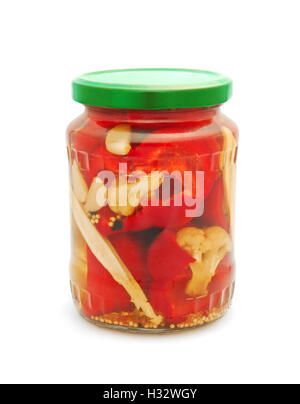 preserved vegetables - Stock Photo