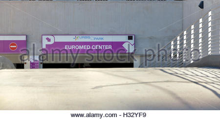 Marseille, Arenc area in the 2d district,  concentrates office buildings, housings, hotels, theaters - Stock Photo
