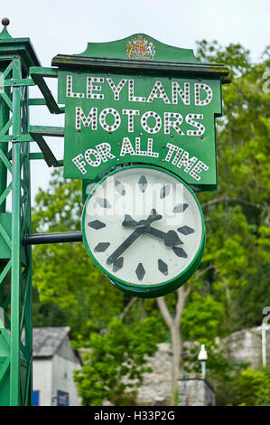 Leyland Motors for all time clock - Stock Photo