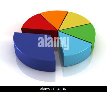 Infographic pie chart 9 options stock vector art for H furniture pie chart