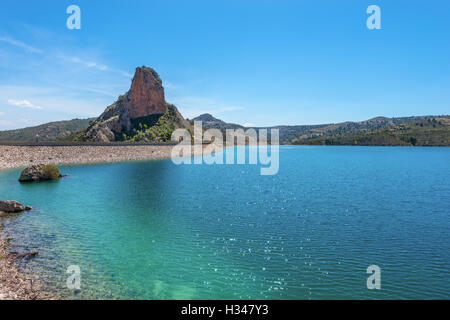 El Portillo Reservoir, Castril, Granada Province, Andalusia, Spain - Stock Photo