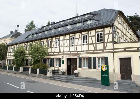 Gruenhainichen, Germany. 20th Sep, 2016. The headquarters of the family business Wendt & Kuehn in Gruenhainichen, - Stock Photo