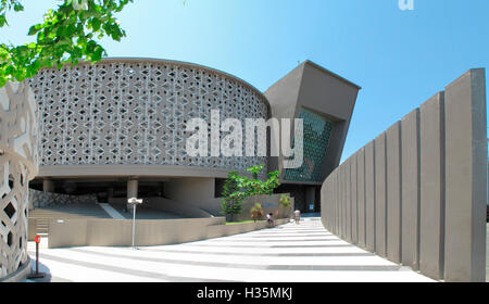 Exterior view of The Aceh Tsunami Museum, Banda Aceh, Indonesia. - Stock Photo