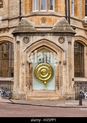 Corpus Clock, Trumpington Street, Cambridge, England, UK - Stock Photo