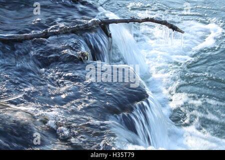 tiny waterfall Stock Photo