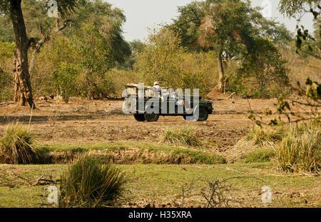 Mana Pools National Park. Zimbabwe - Stock Photo