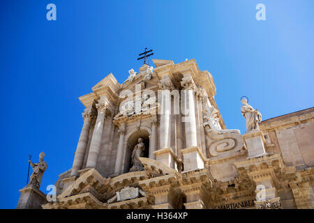 Cathedral of Syracuse - Stock Photo