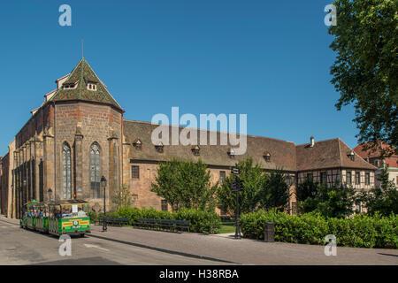 Unterlinden Museum, Colmar, Alsace, France - Stock Photo