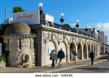Harry Ramsden restaurant, Bournemouth, Dorset, England, UK - Stock Photo