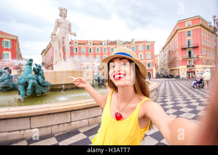 Traveling in Nice - Stock Photo