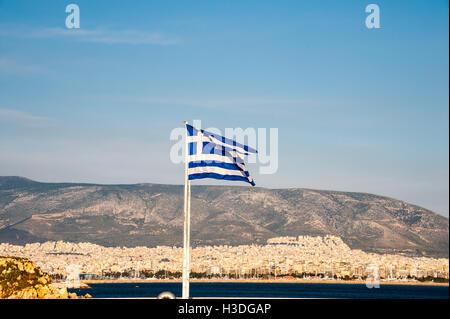 GREECE ATTICA ATHENS PIRAEUS HARBOUR A VIEW OF THE ATTIKO ...
