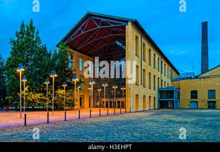 Italy Emilia Romagna Parma Auditorium Paganini Prejected By Renzo Piano - Stock Photo