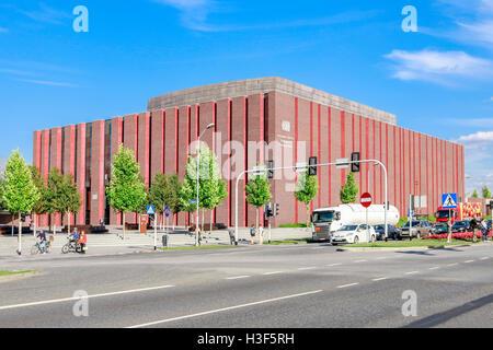 Polish National Radio Symphony Orchestra building in Katowice, Poland. - Stock Photo