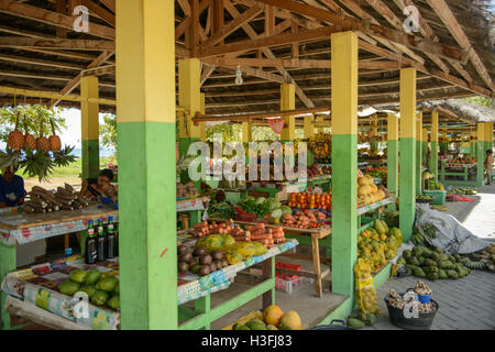 Fruit and vegetable market, Dili, Timor Leste - Stock Photo