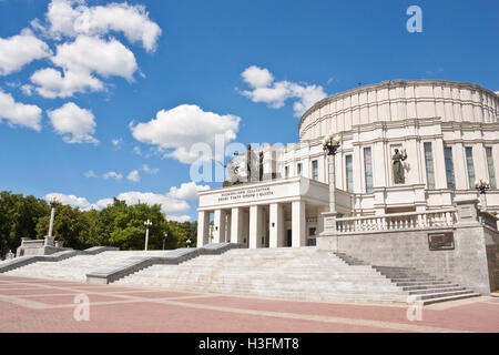 The National Academic  Opera and Ballet Theatre of Belarus in Minsk - Stock Photo